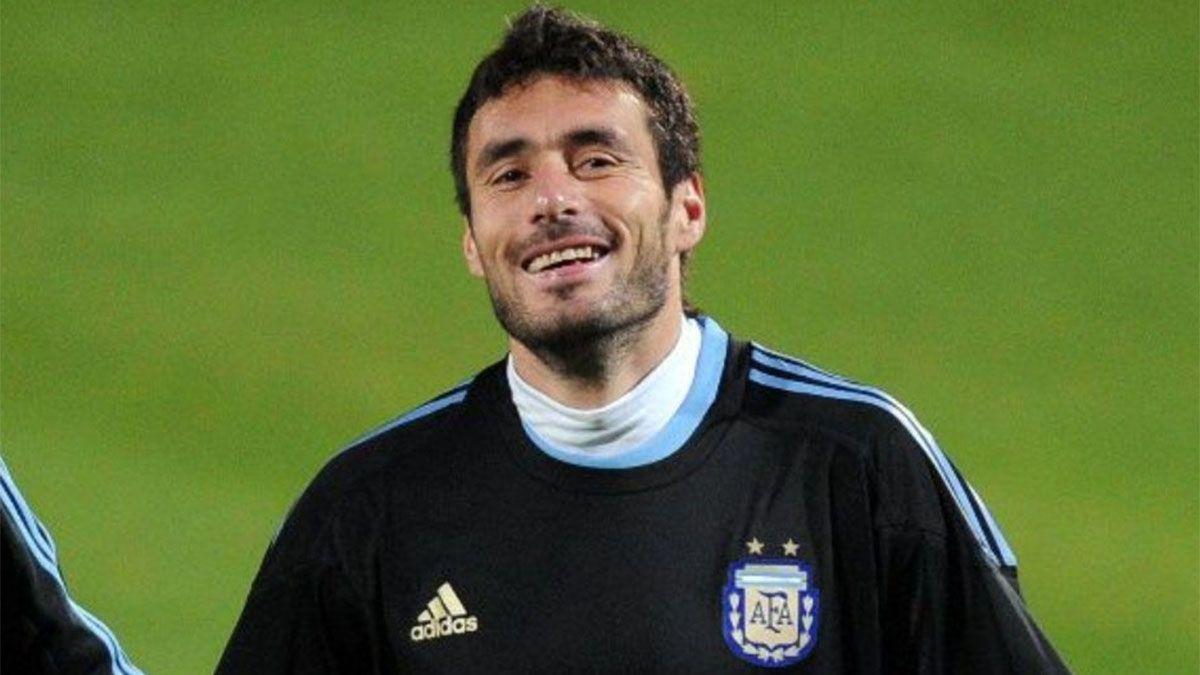 Diego Pozo estuvo en el plantel que jugó el Mundial de Sudáfrica 2010.