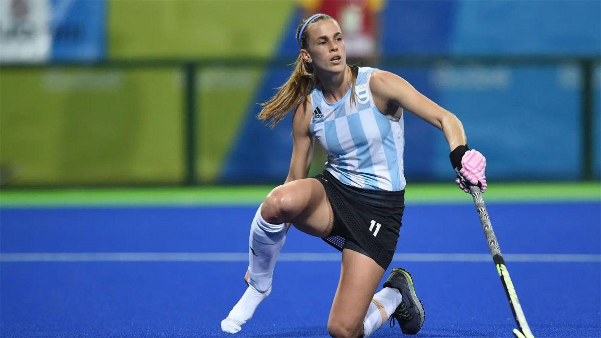 Carla Rebecchi pegó el portazo y no jugará más en Las Leonas