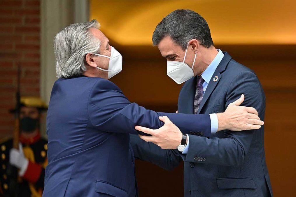 Alberto Fernández recibirá este miércoles por la mañana en Casa Rosada a su par del Gobierno de España