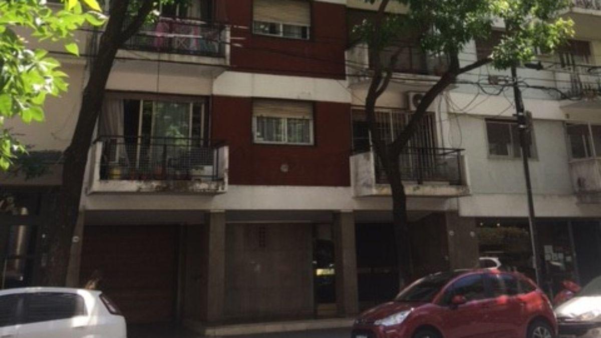 Este departamento de calle Sánchez de Bustamante es uno de los que salen a subasta la semana próxima en la Ciudad Autónoma de Buenos Aires.
