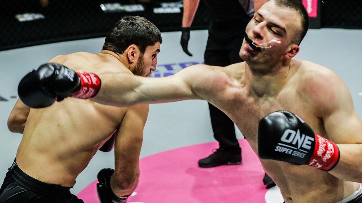 Beybulat Isaev noqueó de una piña a un rival en las artes marciales mixtas