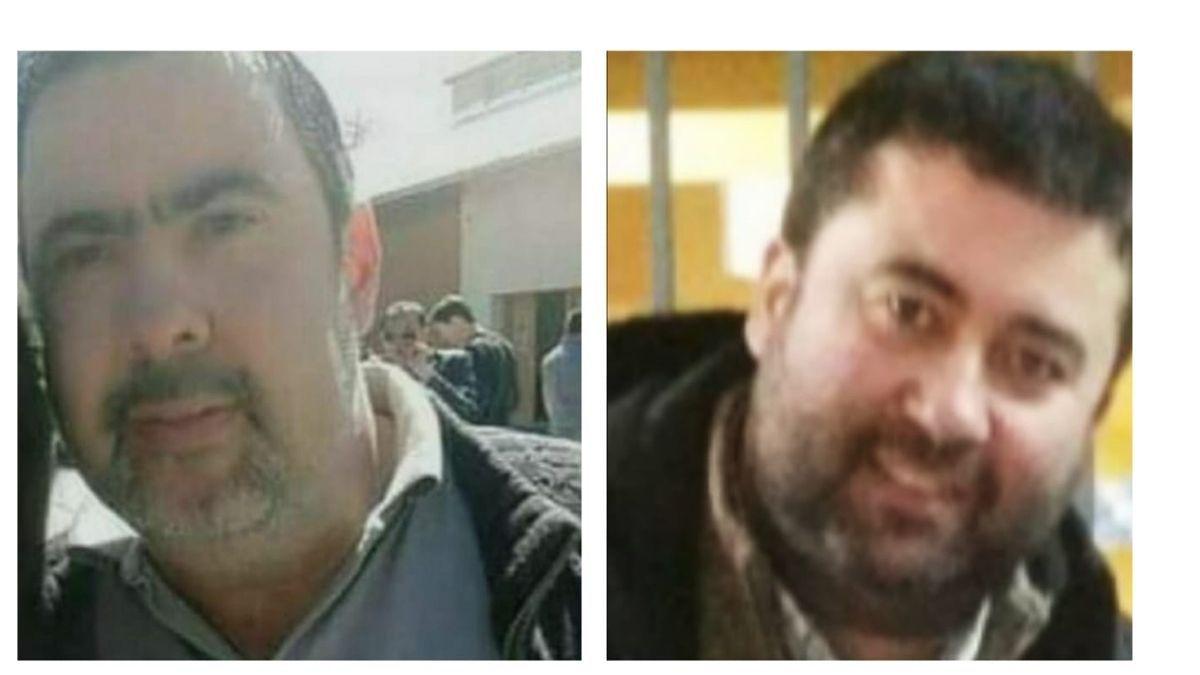 Mauricio (izquierda) y Martín (derecha) ambos murieron esta semana