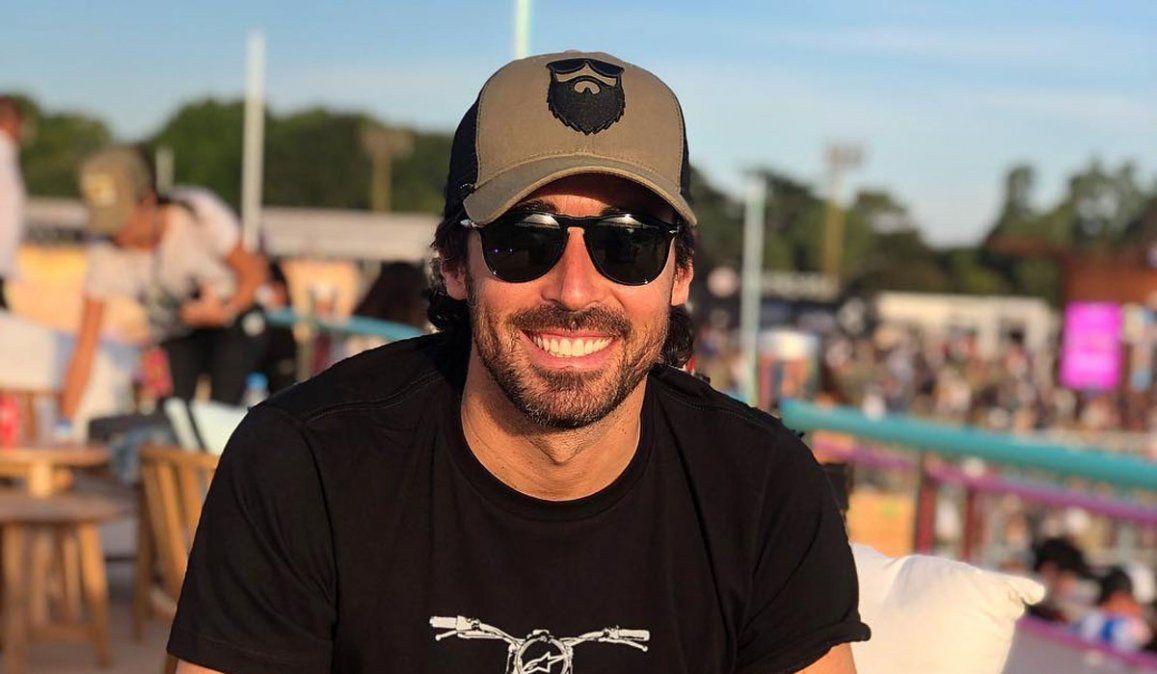 Nacho Viale, otro que viajó a Miami para vacunarse