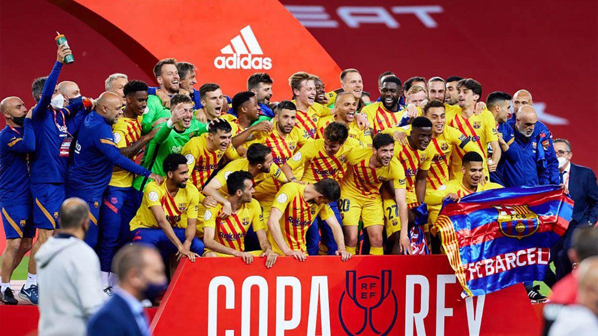 Los títulos que ganó Messi en Barcelona y todos los números