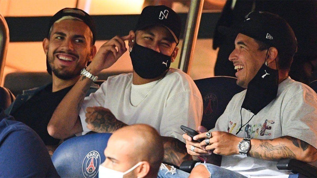 Paredes, Neymar y Benedetto fueron sancionados