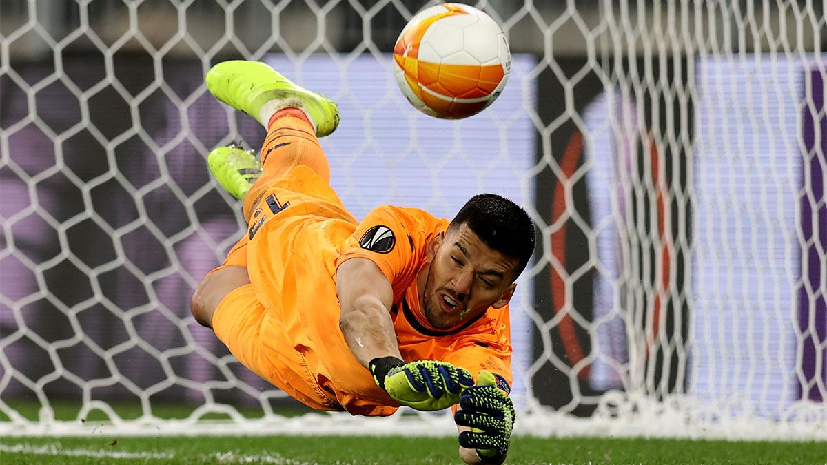 Villarreal se consagró campeón de la mano de Rulli