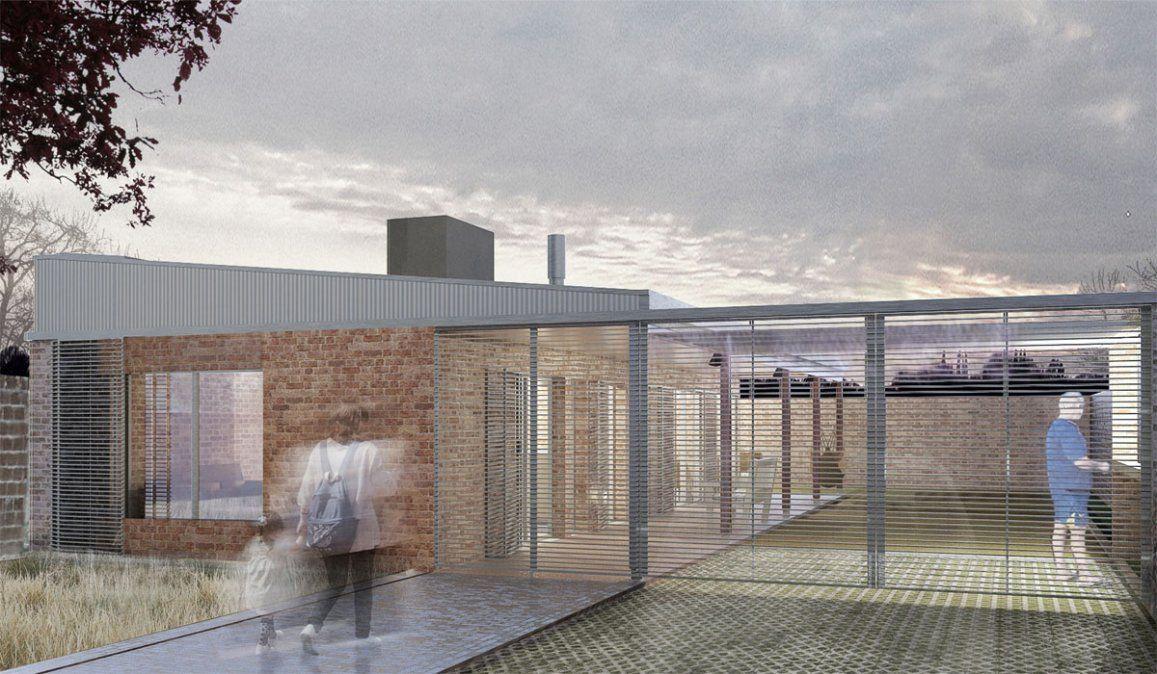 Casa Propia: este es uno de los modelos de vivienda para construir. Los créditos Procrear II que se abren este martes son para Desarrollos Urbanísticos ya edificados.