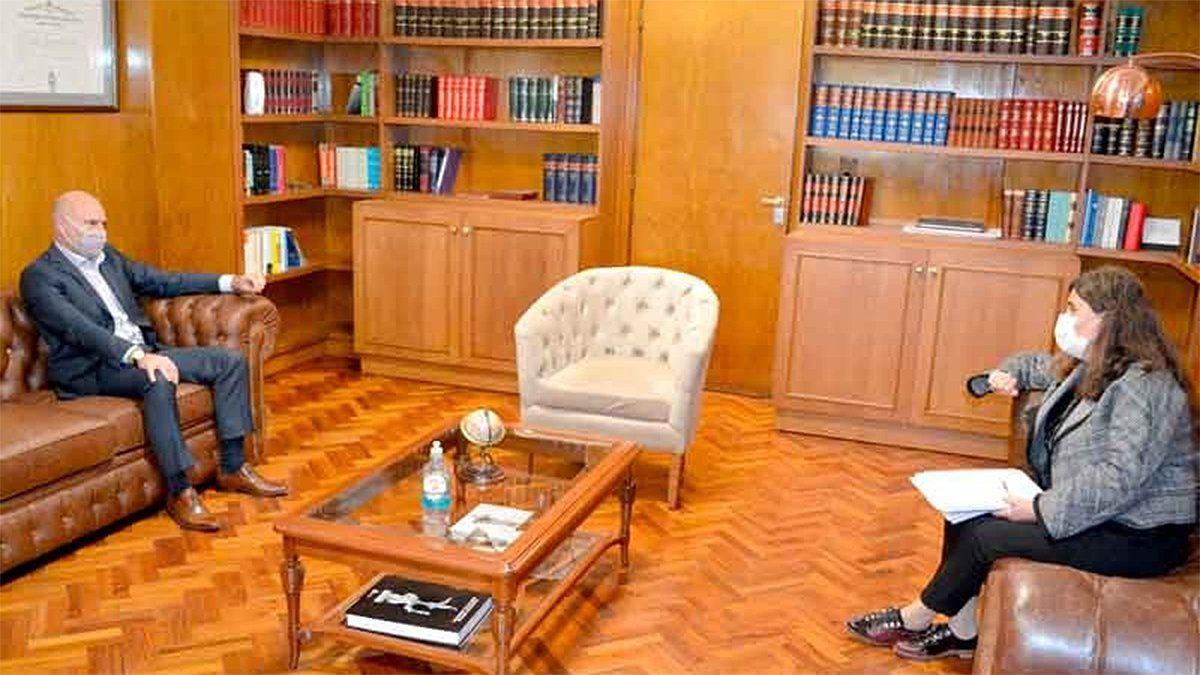 El presidente de la Corte