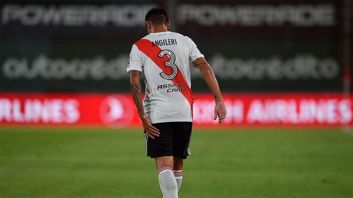 Fabricio Angileri sufrió un desgarrito en el isquiotibial izquierdo.