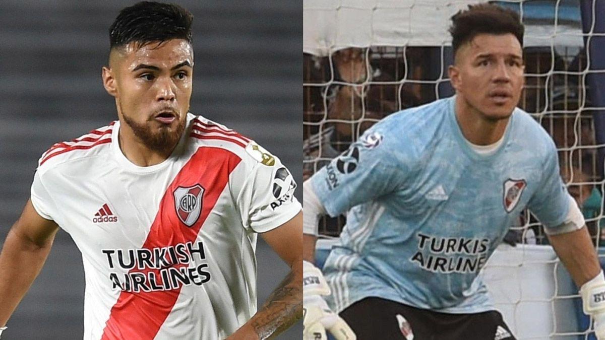 Qué tienen Enrique Bologna y Paulo Díaz, ausentes en River