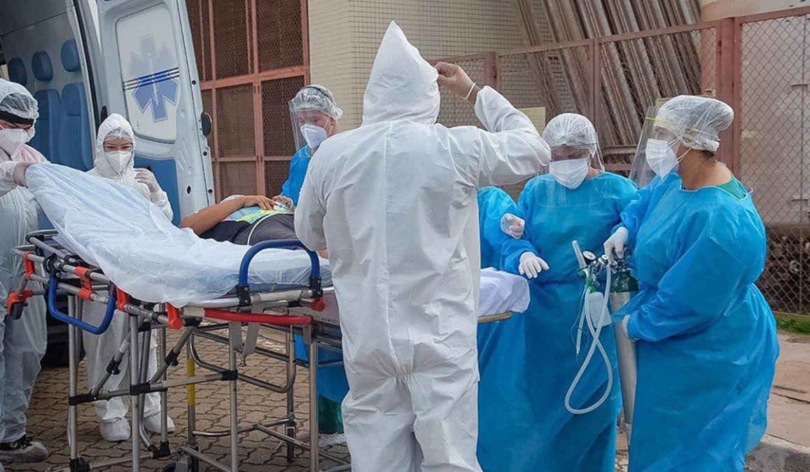 Brasil atraviesa el peor momento sanitario y hospitalario de su historia ya que tiene una acupación superior al 80 por ciento de camas de terapia intensiva