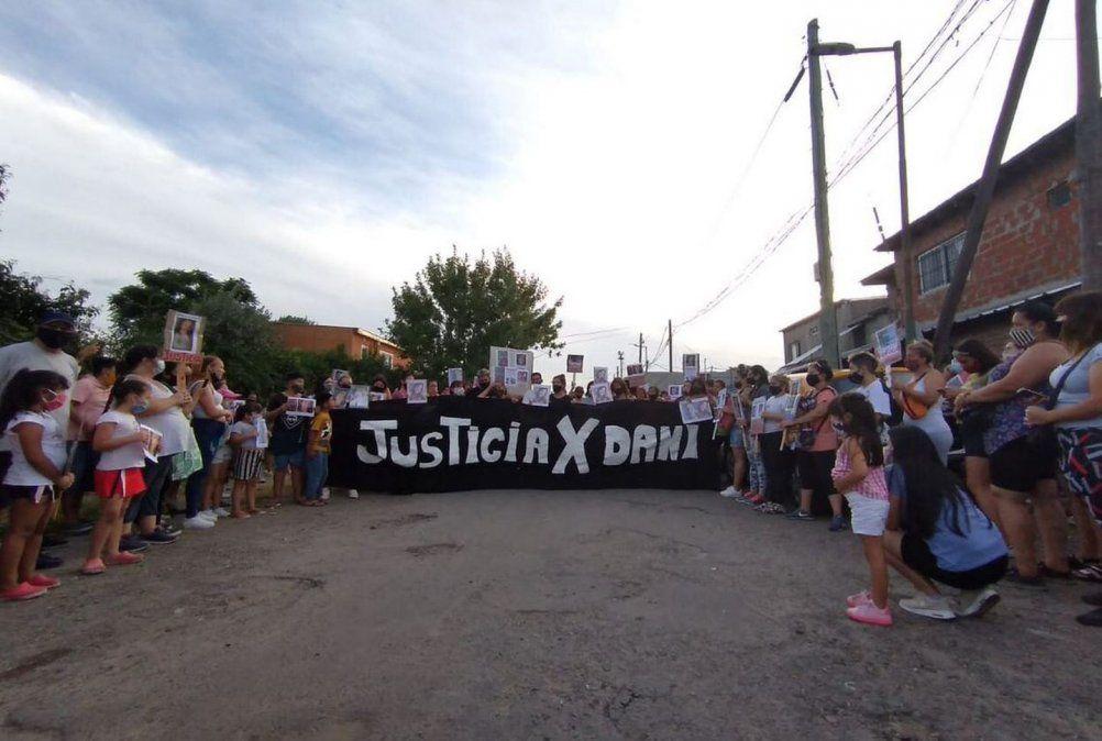 Los familiares y amigos de Daniela piden justicia.
