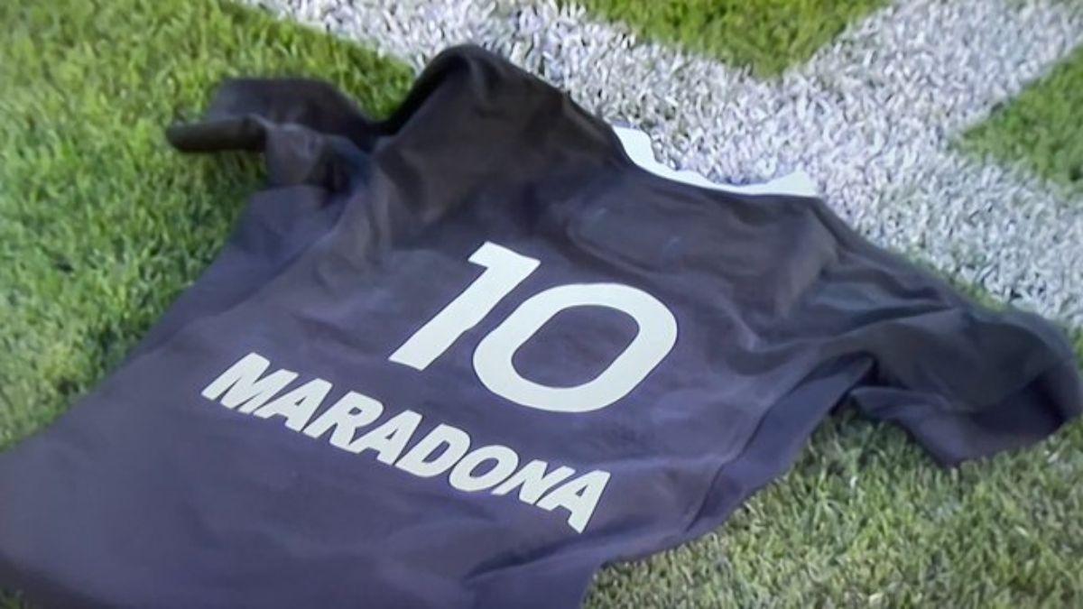 Los All Blacks y un haka muy especial dedicado a Maradona