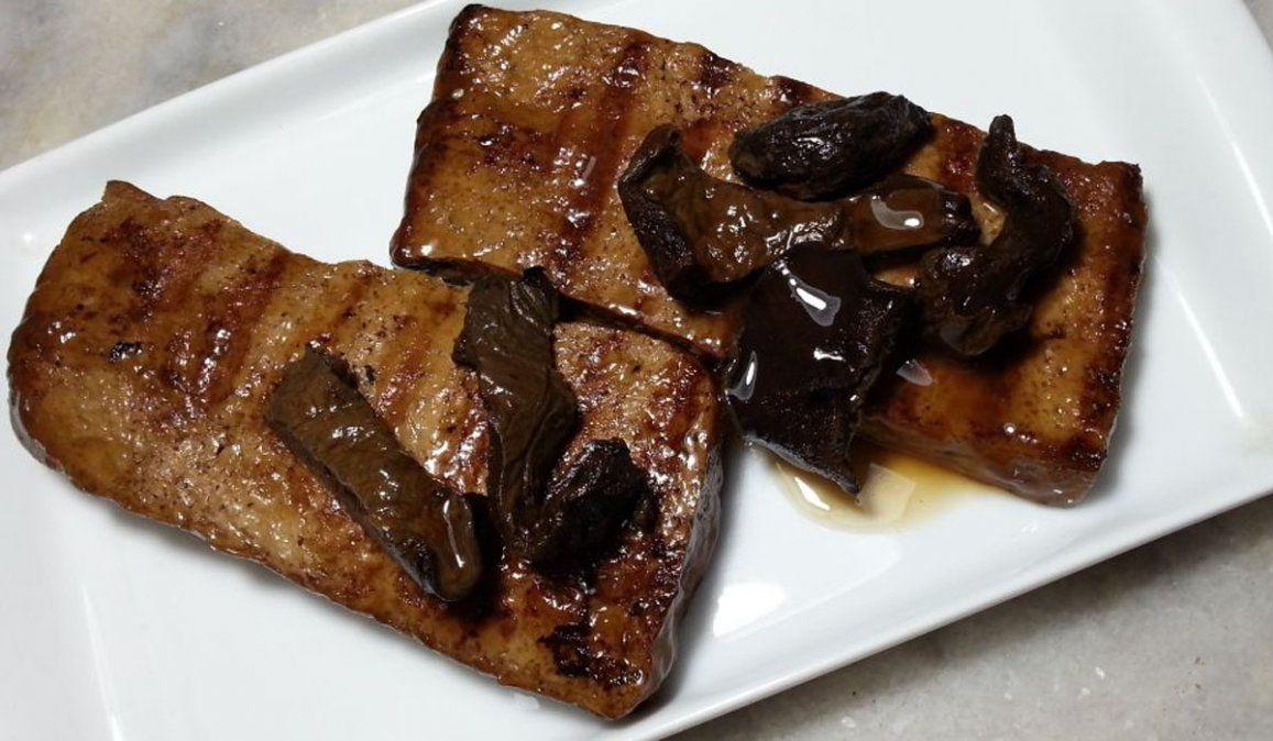 Receta de Bife de Tofu, el plato vegetariano con el que Sol Pérez enamoró a Martitegui