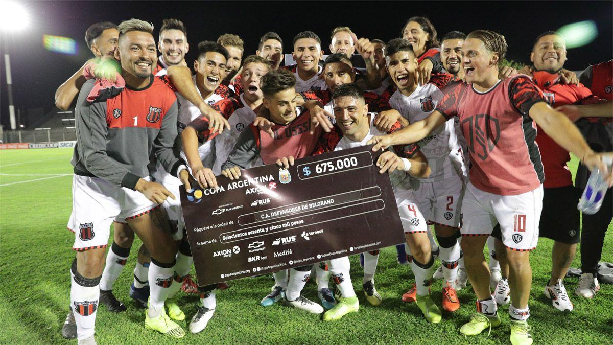 Defensores de Belgrano avanzó en la Copa Argentina