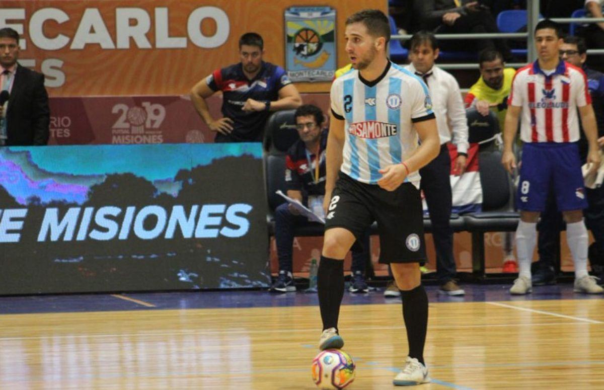 Luciano González fue campeón de la AMF con Argentina y hoy juega para Estados Unidos. en el futsal FIFA