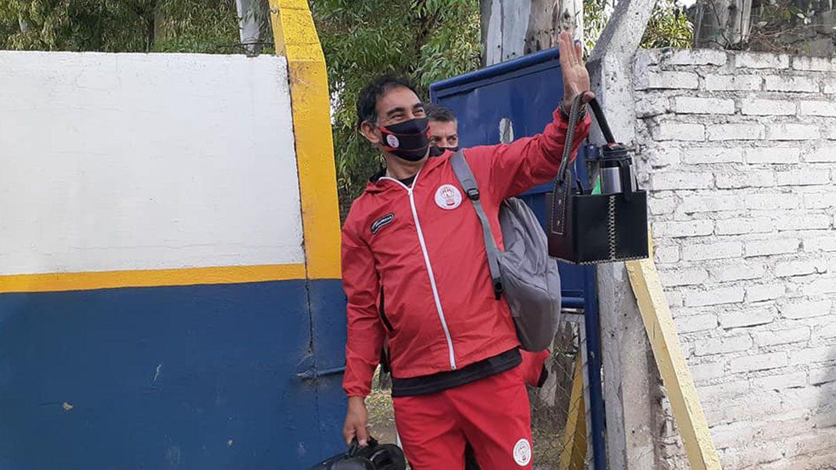 Darío Alaniz no se guardó nada a la hora de hablar de la suspensión del fútbol.
