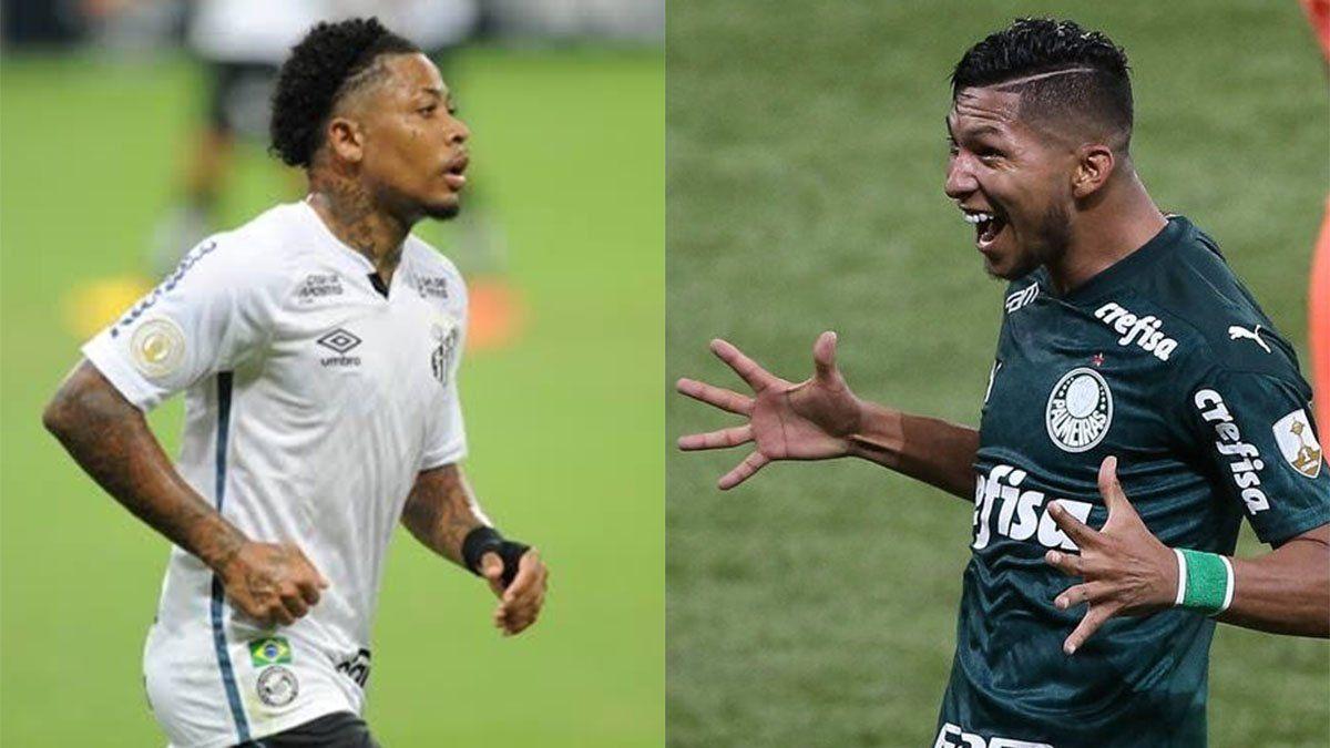 Palmeiras vs. Santos: hora, TV y formaciones