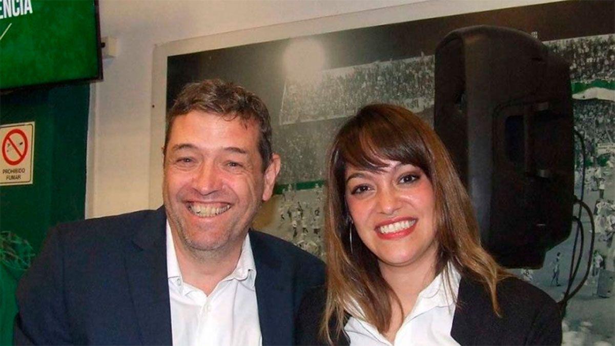 Oscar Tucker y Lucía Barbuto