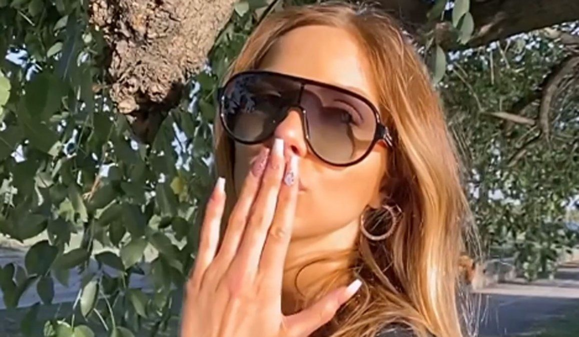 Video: el error garrafal de Romina Malaspina en Instagram