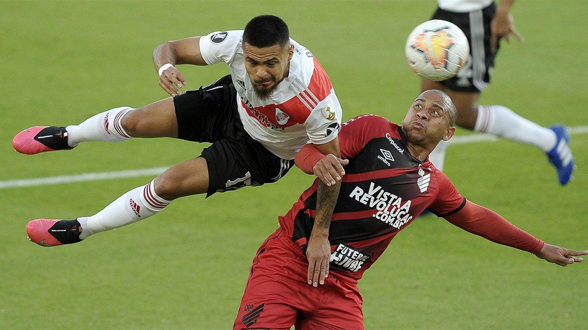 River derrotó 1 a 0 a Paranaense y se metió en cuartos de final