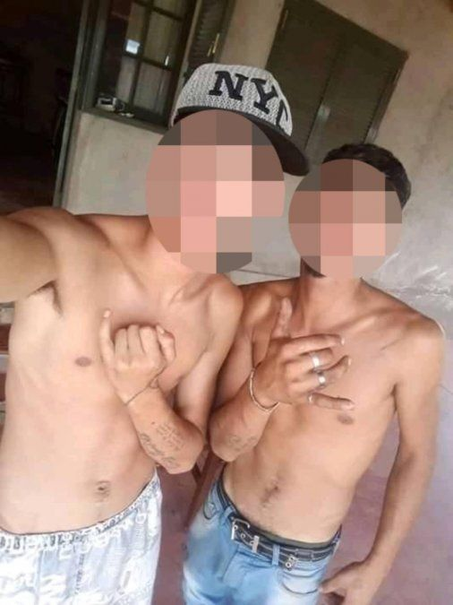 Los dos hermanos detenidos por el abuso en manada en Tunuyán.