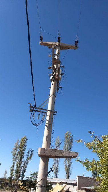 Otro robo de un transformador eléctrico en la zona Este