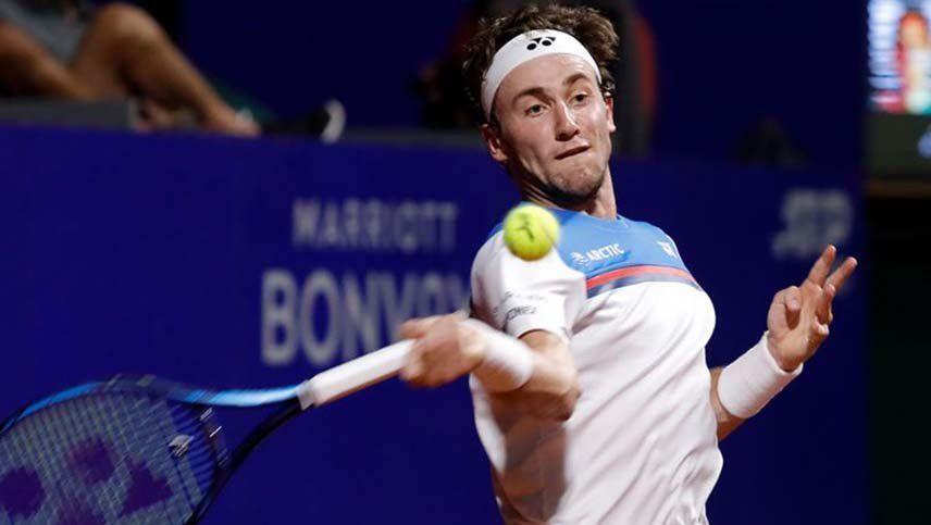 El noruego Casper Ruud es el primer semifinalista del Argentina Open