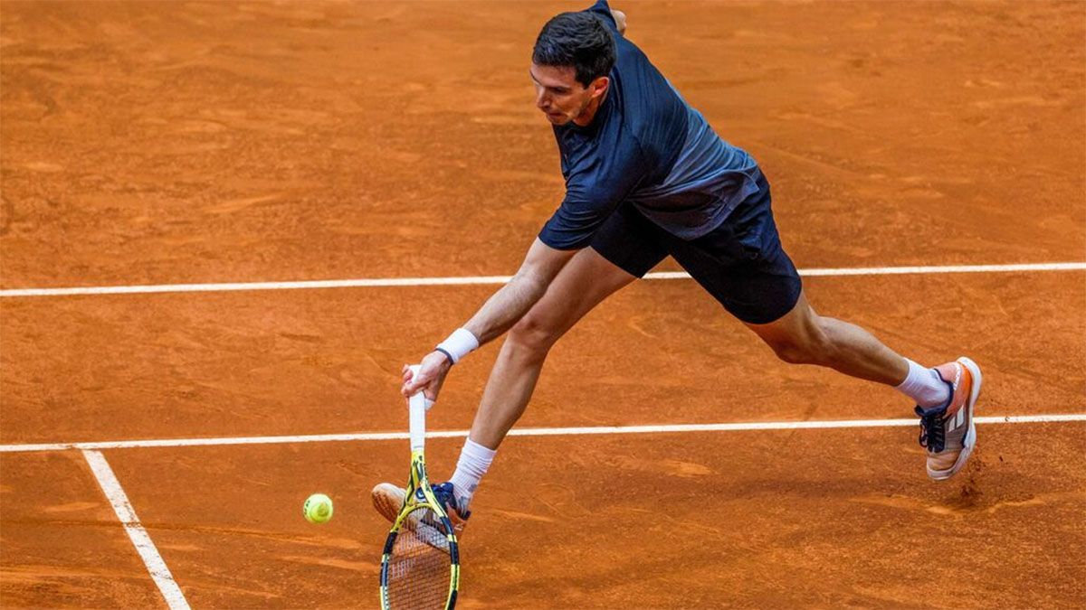 Delbonis avanzó a cuartos de final en Roma