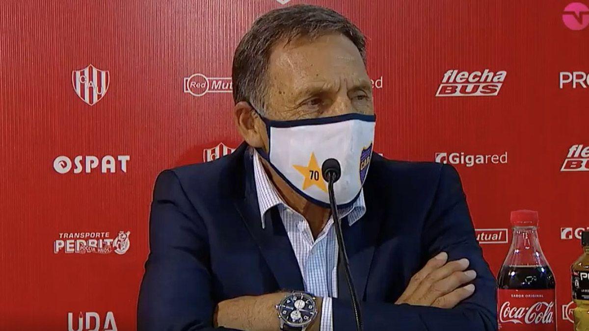 Russo le restó importancia a la derrota de Boca