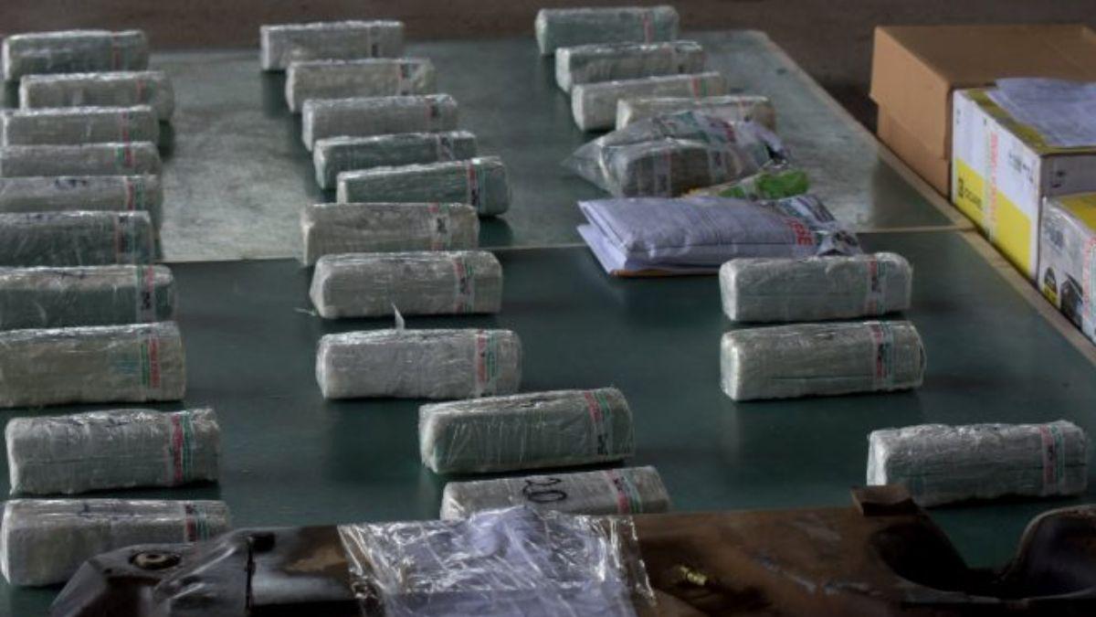 La cocaína incautada en la Operación Camaleón.