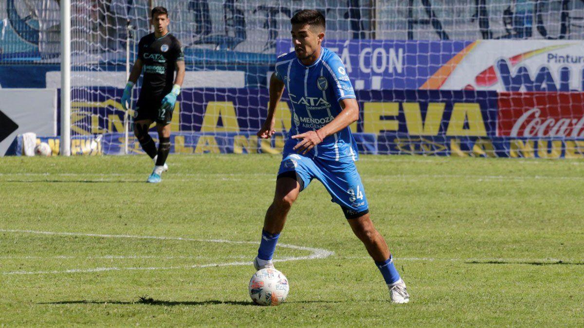 El volante Luciano Pizarro sintió mucha felicidad por el regreso al Feliciano Gambarte.