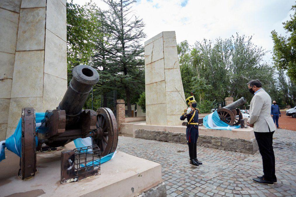 Homenaje a San Martín y convivencia política en el 150 aniversario de Las Heras