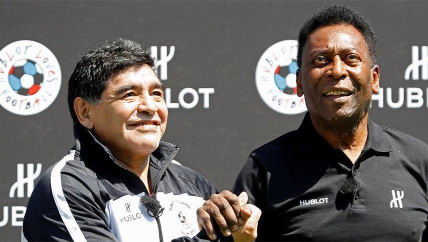 Coronavirus: Maradona y Pelé se unieron para homenajear a los médicos