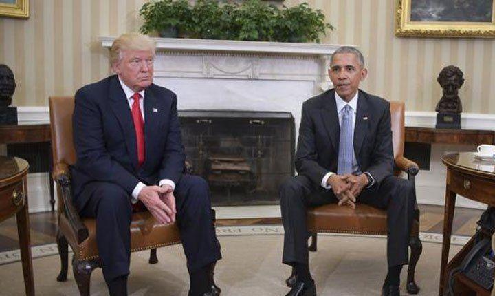 Trump criticó los obstáculos de Obama en la transición