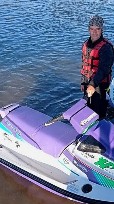 Matías Gottardini salvó a los tripulantes de dos embarcaciones