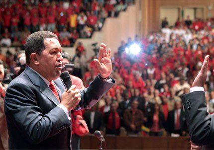 Chávez dijo que se prepara para gobernar al menos 11 años más