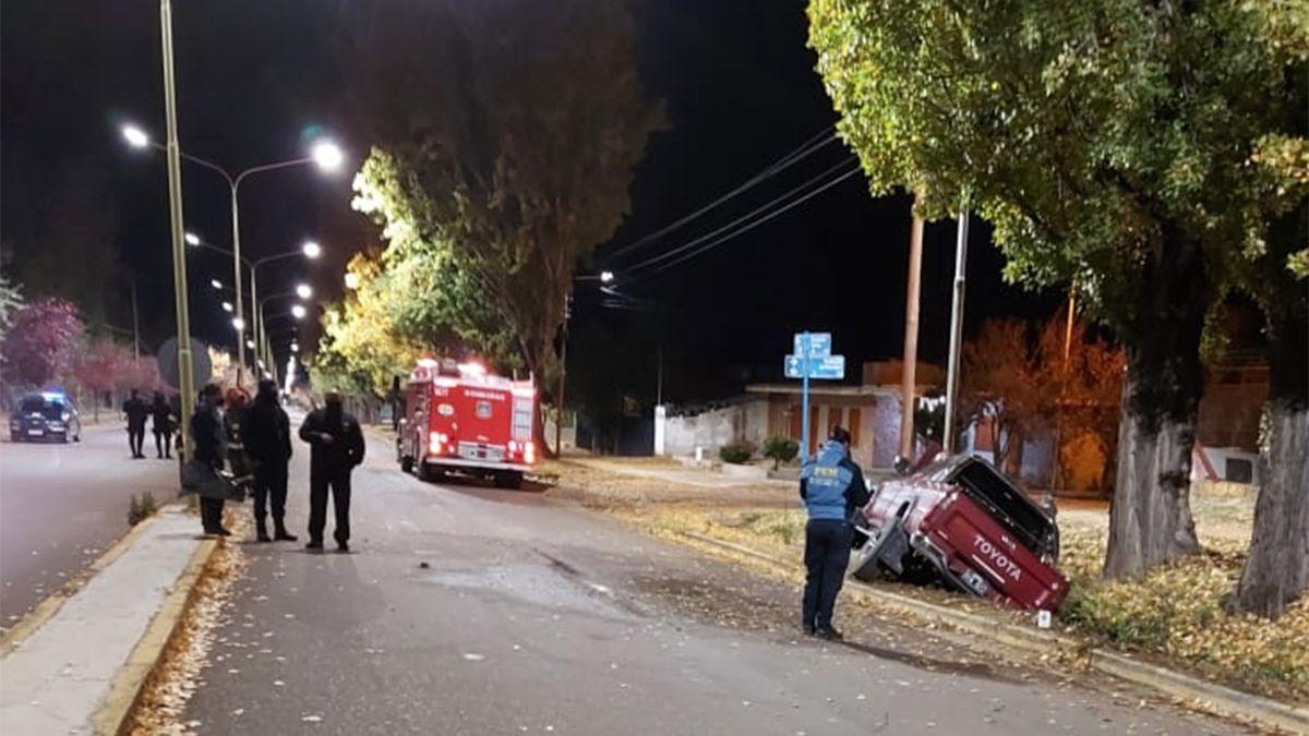 El accidente en Tupungato se produjo en horas de la madrugada de este sábado.
