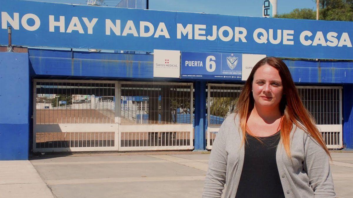 Ayelén Merchak es candidata a presidenta de Vélez.