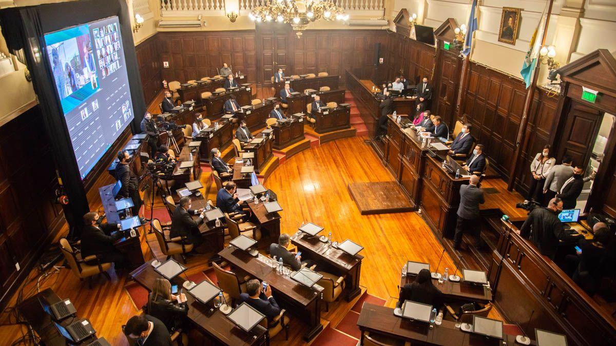 Fue una Asamblea Legislativa con pocas autoridades por la pandemia de coronavirus.