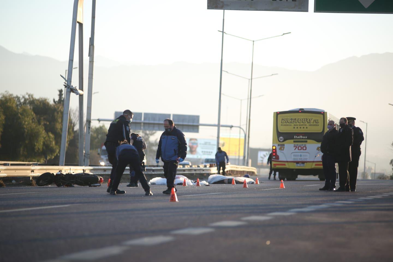 Dos mujeres murieron en un tremendo accidente en Guaymallén