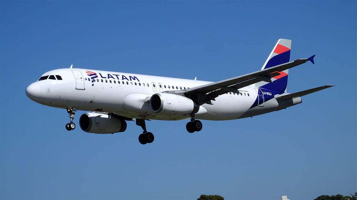 Latam se suma a los vuelos internacionales de Mendoza.