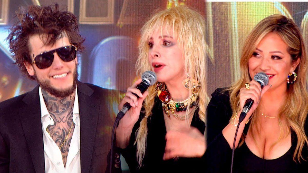 ¡Fulminante! La tremenda devolución de Karina La Princesita a Alex Caniggia en el Cantando 2020