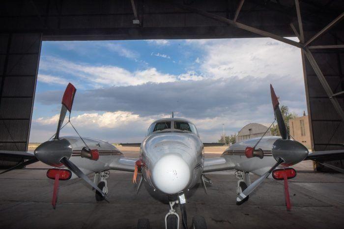 Los aviones de la lucha antigranizo mitigaron tormentas en el Noreste y en el Sur.