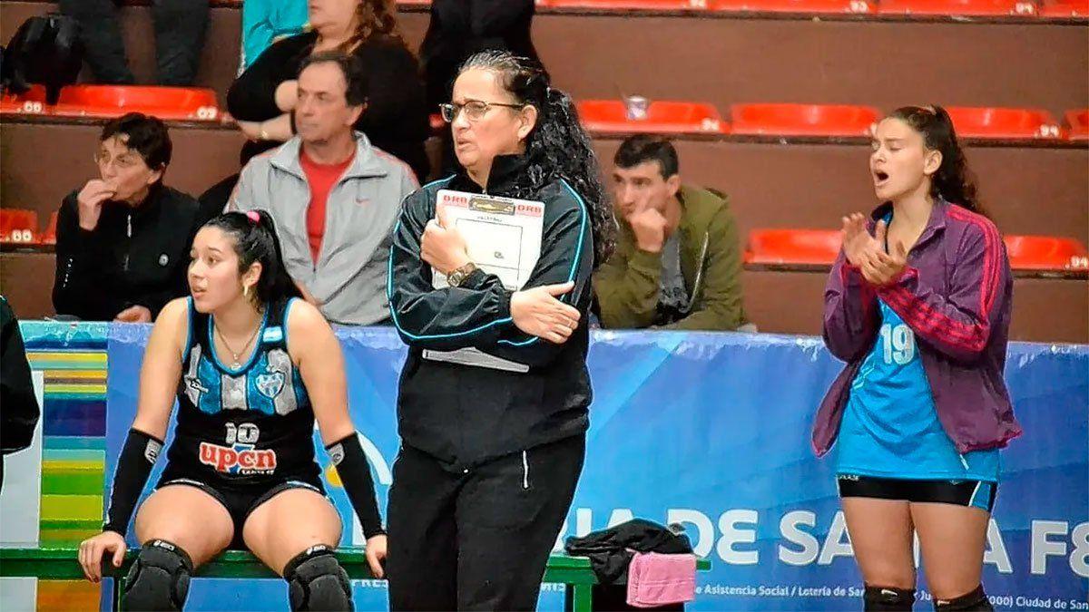 Lorena Góngora, la primera DT de una selección masculina