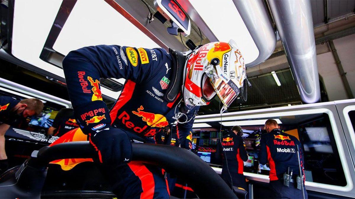 Max Verstappen dominó el primer ensayo en Abu Dhabi