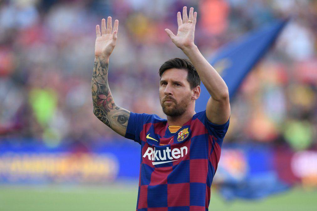 El astro Lionel Messi