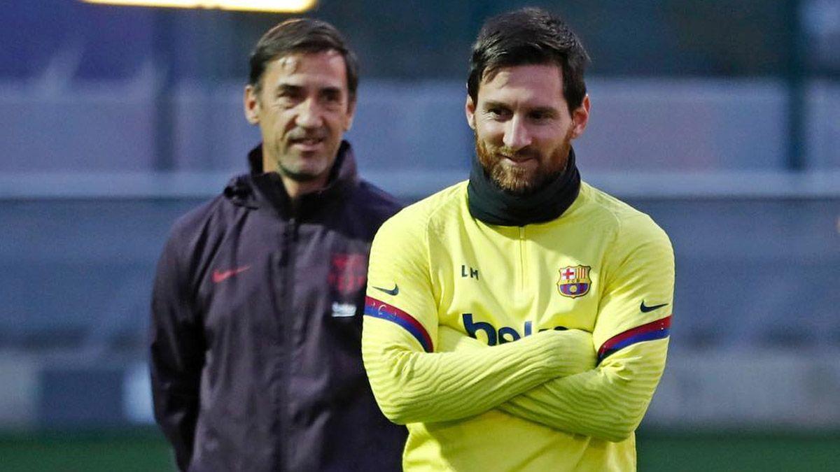 Messi llegó a los 800 con el Barcelona