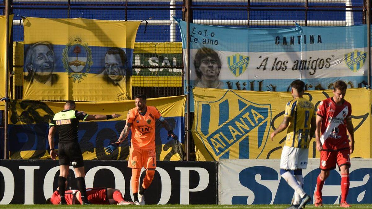 Deportivo Maipú empató con Atlanta, pero mereció más