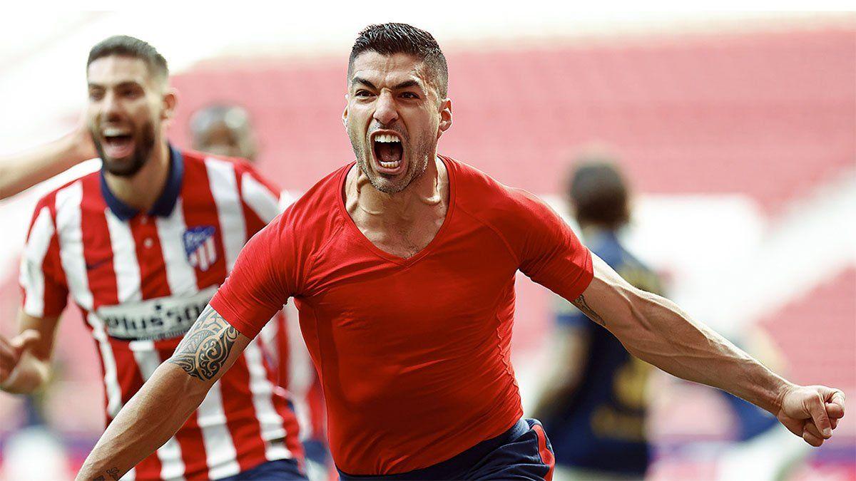 Atlético de Madrid quedó a un paso de la consagración